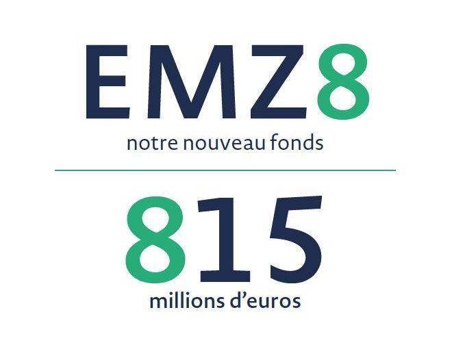 EMZ Partners lève 815 M€ pour son nouveau fonds EMZ 8